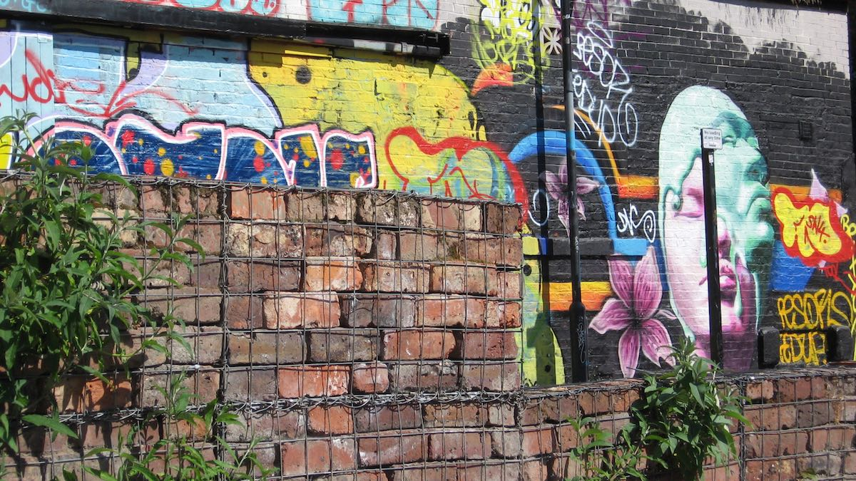 Graffiti In The Ouseburn Valley