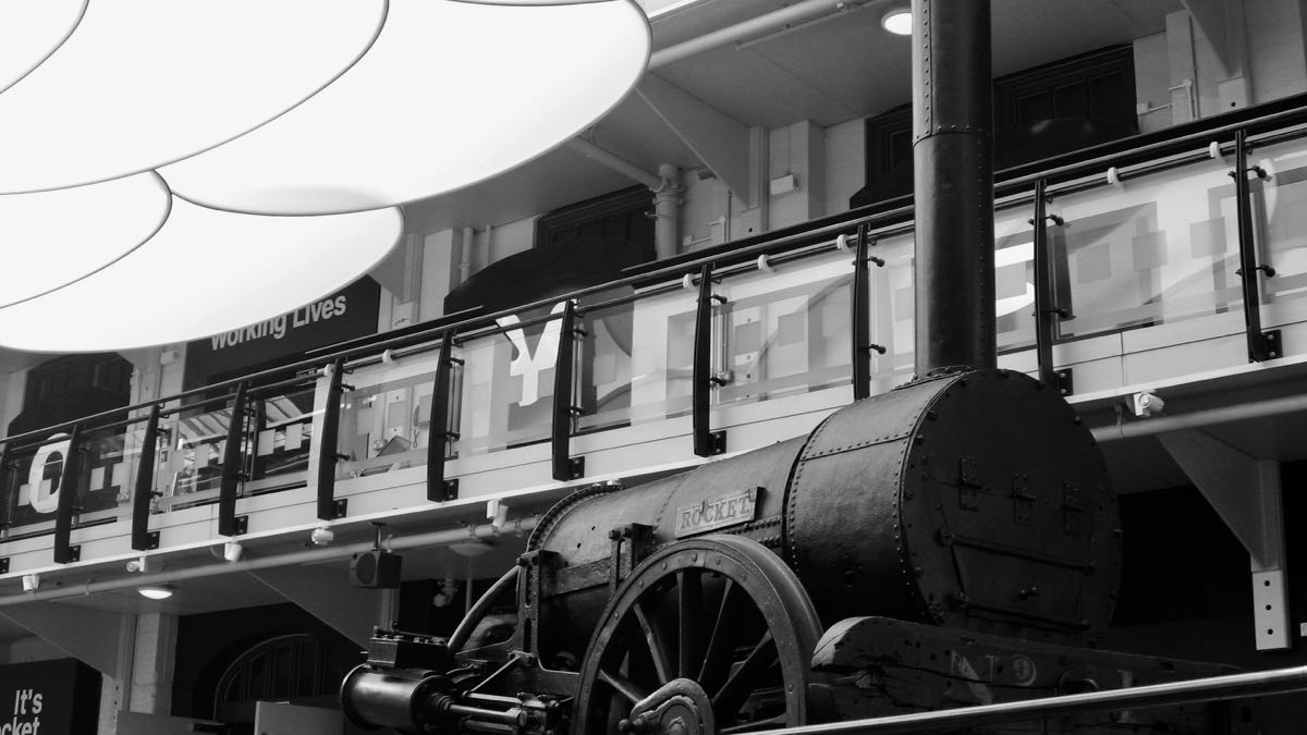GetNorth2018: Stephenson's Steam Engine Rocket In The Discovery Museum