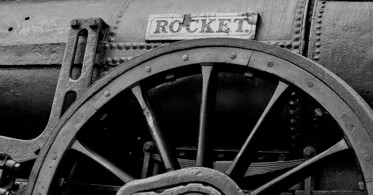 GetNorth2018: Stephenson's Steam Engine Rocket