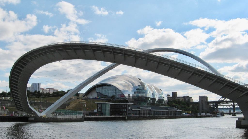 Tyne Undertow: The Millenium Bridge And River Tyne